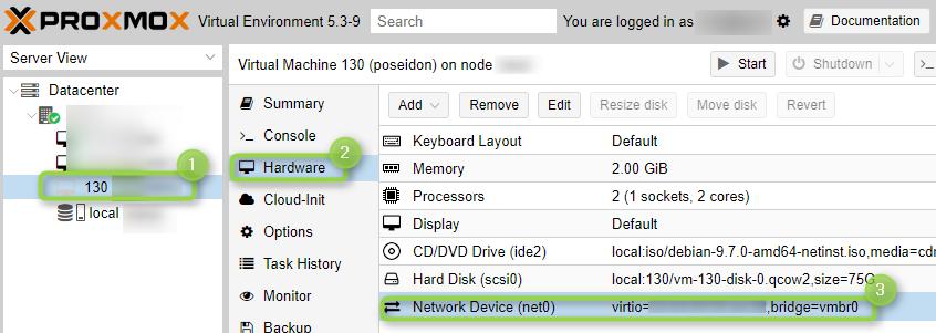 Créer une VM sous Proxmox chez Online - Petitsurfeur net