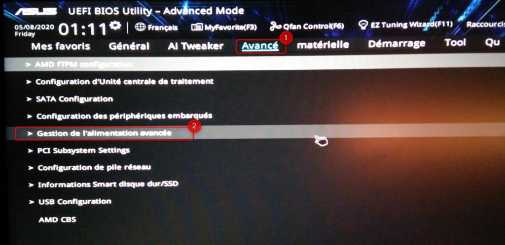UEFI - Advanced